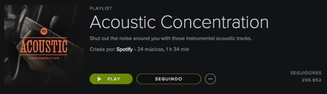 Acoustic concentration