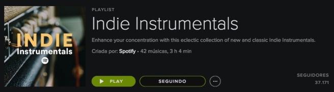 Indie Instrumentals